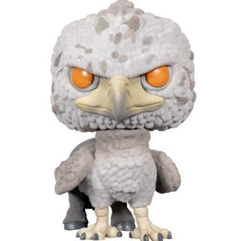 Buckbeak Flocked Pop