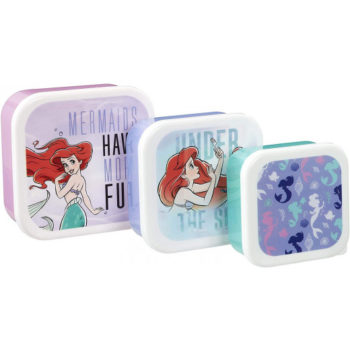 Plastic Storage Set LITTLE MERMAID