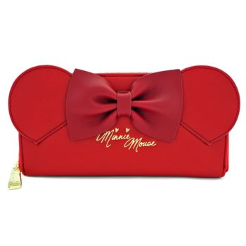 Red Minnie Ears Wallet