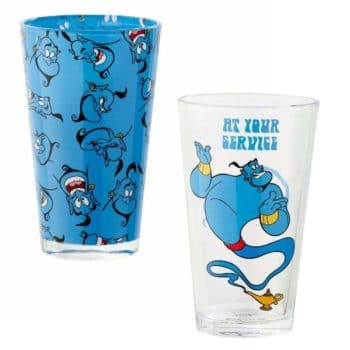 Pint Glass Set: DISNEY ALADDIN